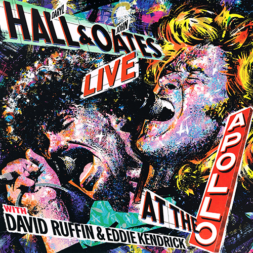 Daryl Hall & John Oates With David Ruffin & Eddie Kendrick - Live At The Apollo [RCA Records AFL1-7035] (10 September 1985)