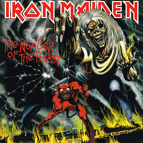 Iron Maiden - The Number Of The Beast [2014 BMG / INgrooves BMG14007V] (1982)