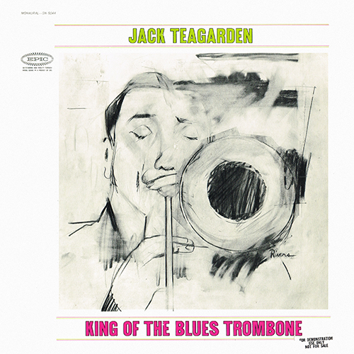Jack Teagarden - King Of The Blues Trombone [Epic Records SN 6044] (1963)