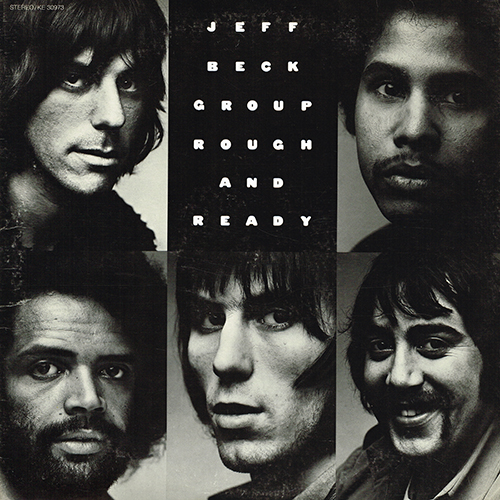 Jeff Beck Group - Rough And Ready [Epic Records  KE 30973] (25 October 1971)