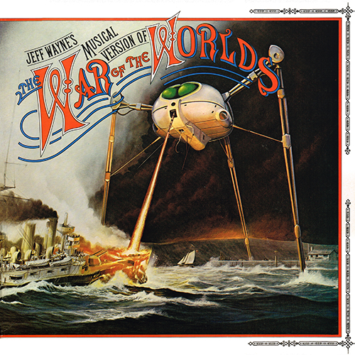 Jeff Wayne - Jeff Wayne's Musical Version Of The War Of The Worlds [CBS Records 96000] (1978)