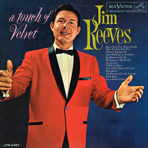 Jim Reeves - A Touch Of Velvet [RCA Records LPM 2487] (1962)
