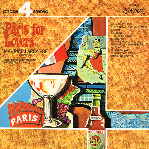 Maurice Larcange - Paris For Lovers [London Phase 4 SP 44133] (1969)