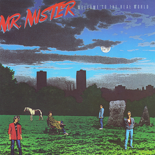 Mr. Mister - Welcome To The Real World [RCA Records AFL1-7180] (27 November 1985)