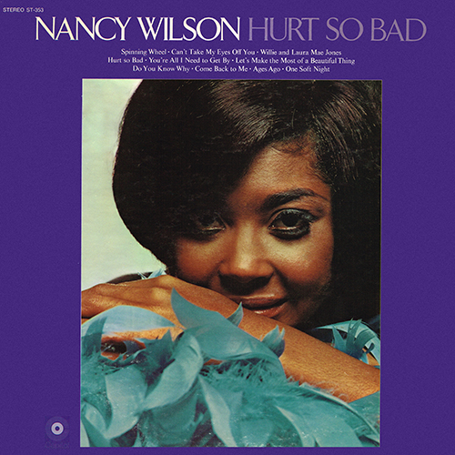 Nancy Wilson - Hurt So Bad [Capitol Records ST-353] (1969)