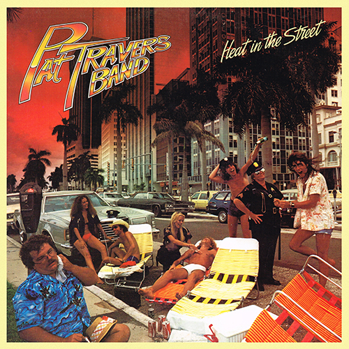 Pat Travers Band - Heat In The Street [Polydor PD-1-6170] (1978)