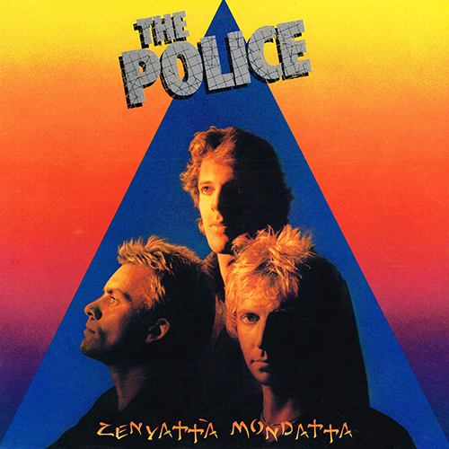 The Police - Zenyatta Mondatta [A&M SP-3720] (3 October 1980)