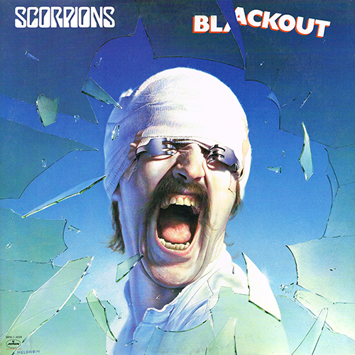 Scorpions - Blackout [Mercury SRM-1-4039] (29 March 1982)