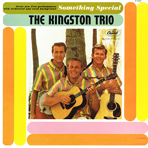 The Kingston Trio - Something Special [Capitol Records T 1747] (July 1962)