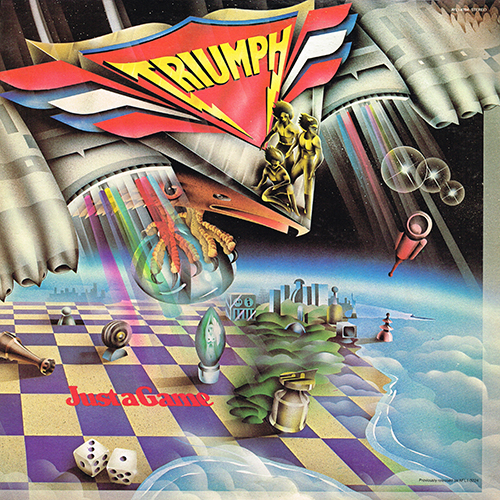 Triumph - Just A Game [RCA Victor AYL1-4784] (10 January 1979)