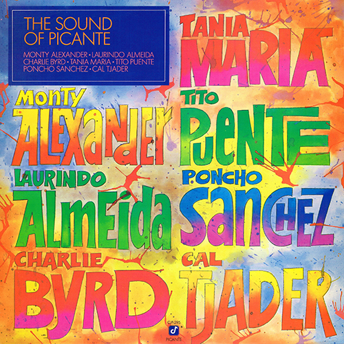 Various Artists - The Sound Of Picante [Concord Records CJP-295] (1986)