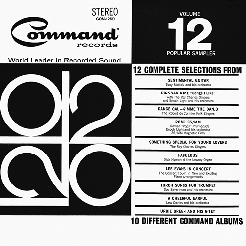 Various Artists - Command Sampler Volume 12 [Command Records COM-12SD] (1964)