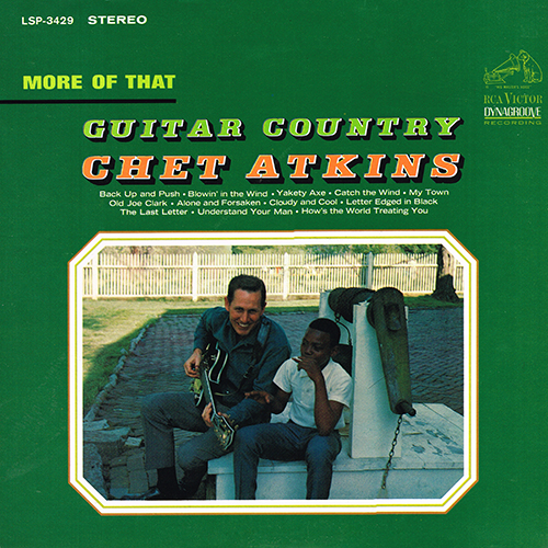 Chet Atkins - More Of That Guitar Country [RCA Records LSP-3429] (15 June 1965)