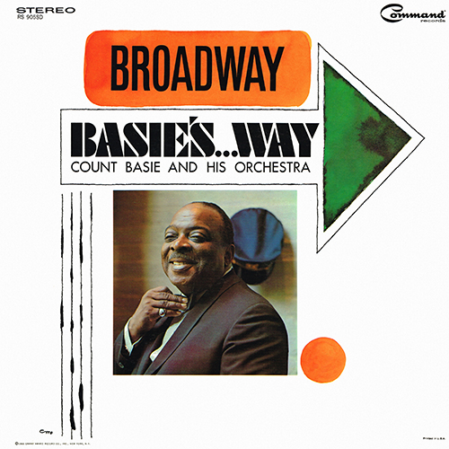 Count Basie - Broadway Basie's...Way [Command Records RS 905 SD] (1966)