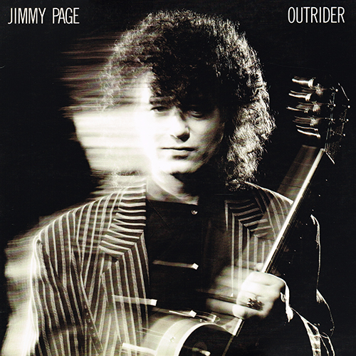 Jimmy Page - Outrider [Geffen Records GHS 24188] (19 June 1988)