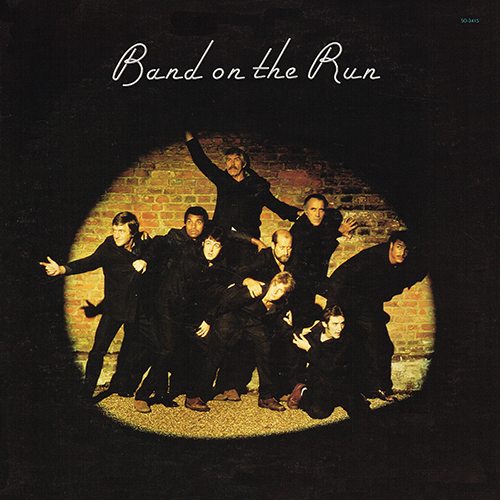 Paul McCartney & Wings - Band On The Run [Apple Records SO-3415] (5 December 1973)