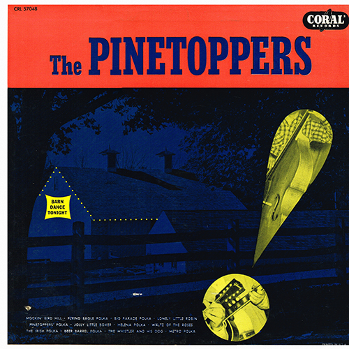 The Pinetoppers - The Pinetoppers [Coral Records CRL 57048] (1956)