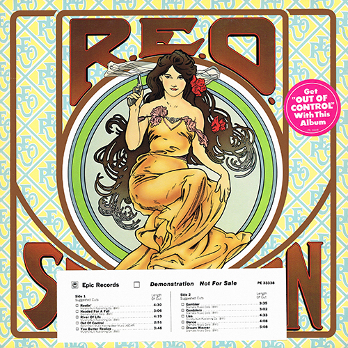 REO Speedwagon - This Time We Mean It [Epic Records PE 33338] (July 1975)