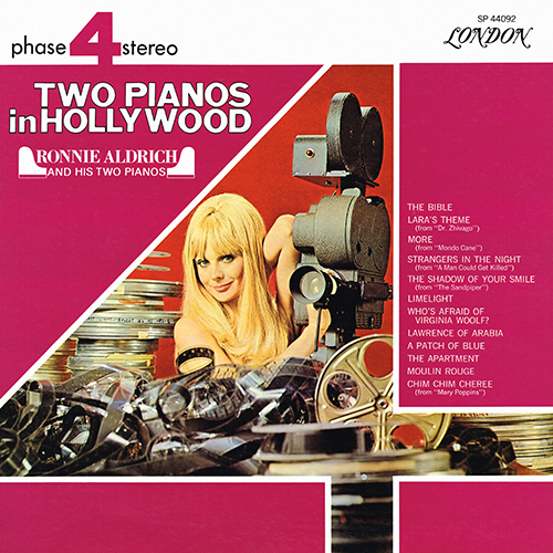 Ronnie Aldrich And His Two Pianos - Two Pianos In Hollywood [London Phase 4 SP 44092] (1967)