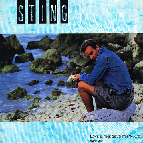 Sting - Love Is The Seventh Wave (New Mix) [A&M Records SP-12153] (1985)
