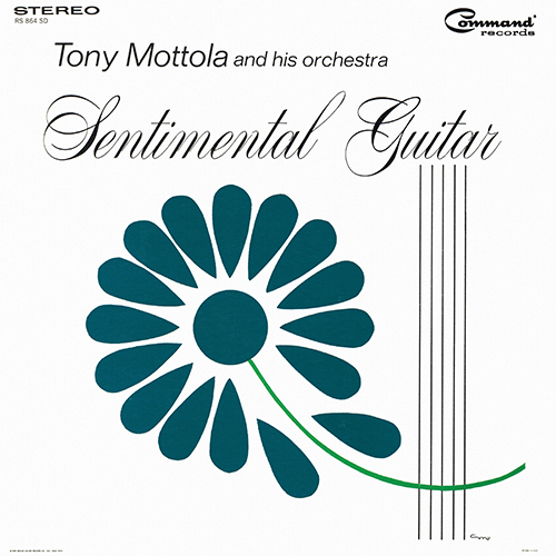 Tony Mottola And His Orchestra - Sentimental Guitar [Command Records RS 864 SD] (1964)