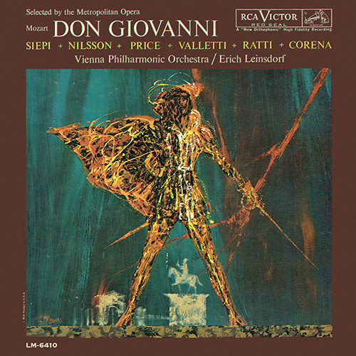 Wolfgang Amadeus Mozart - Don Giovanni [RCA Red Seal LM-6410] (1960)