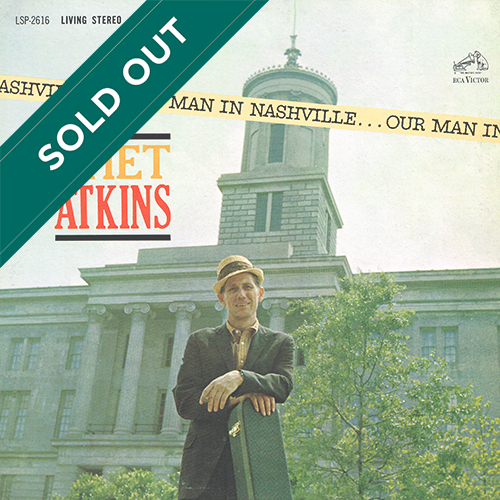 Chet Atkins - Our Man In Nashville [RCA Records LSP-2616] (1963)
